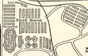 Stock Barns Map