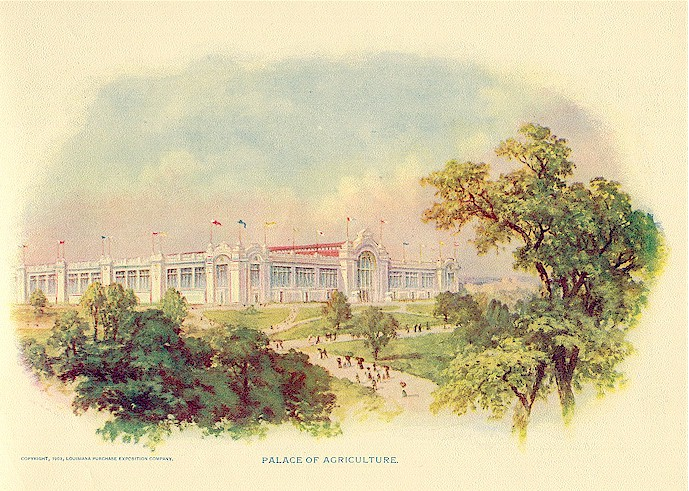 1904 World's Fair Agriculture Palace