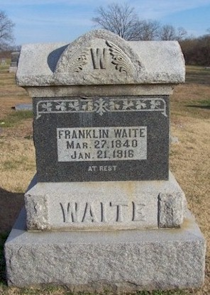 Grave of Franklin Waite
